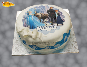 Frozen | Daniel's Cake