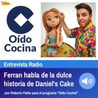 Entrevista a Ferran para el programa Oído Cocina