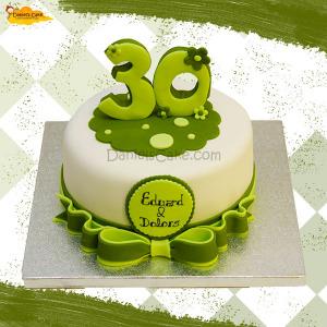 30 Aniversario verde