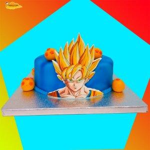 Goku impreso con Bolas de Dragón