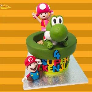 Super mario y Toad
