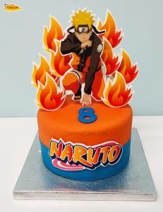 Naruto en llamas