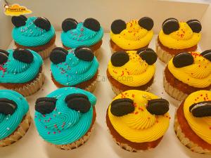 Cupcakes mickey colores