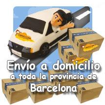 Envío a domicilio Barcelona provincia