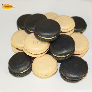 Macarons blanco y negro 2