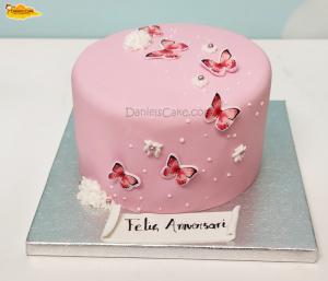 Mariposas rosa
