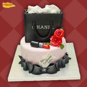 Bolso Chanel rosas