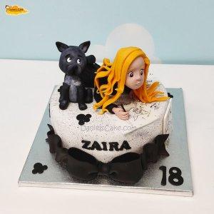 Artista y perro