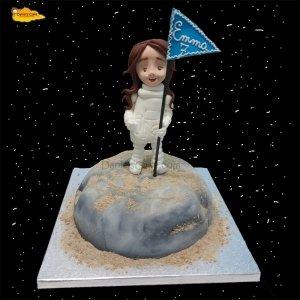 Astronauta bandera
