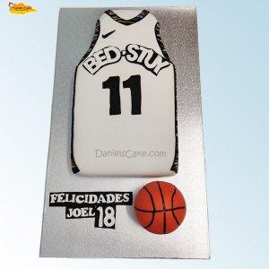 Camiseta pelota baloncesto