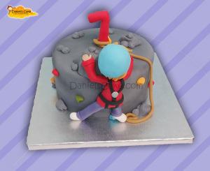Escalador cake