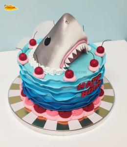 Tiburón cerezas