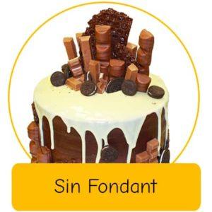 Naked Cake - Sin fondant