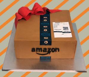Caja Amazon rectángular